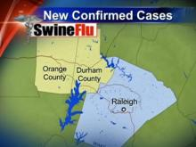 First case of swine flu reported in Durham County