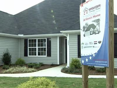"Sgt. Joey Bozik and his family moved into this Fuquay-Varina house, courtesy of ""Operation Coming Home."""