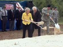 National Guard headquarters groundbreaking