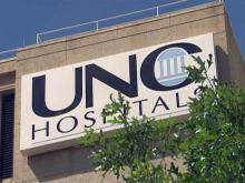 UNC Hospitals sign