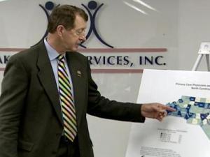 Etheridge hosts forum on expanding healthcare access