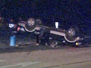Teen injured in wreck during school prank, police say