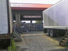 The wholesale building at the State Farmers Market on the State Fairgrounds in Raleigh (Photo courtesy of Maria Droujkova)