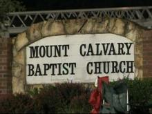 Mount Calvary Baptist Church in Clayton.