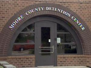 The Moore County Detention Center houses 126 inmates in an aging facility designed to hold no more than 110.