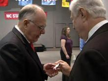 Welcoming ceremony for interim N.C. State Chancellor Jim Woodward