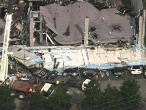 A June 9, 2009, explosion at a ConAgra Foods plant in Garner killed workers and sent some to area hospitals with burns and other injuries.