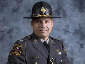 Col. Walter Wilson, commander of the state Highway Patrol