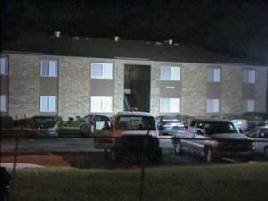 Fayetteville police found two people shot to death inside Watauga Manor Apartments Tuesday night.