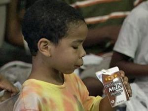 Children in the summer feeding program can get a free breakfast and lunch.
