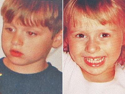 Alexander Lee Suddeath, 6, and Heidi Elizabeth Suddeath, 4.
