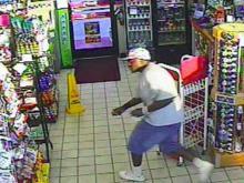 Surveillance video: Convenience store robberies in Goldsboro