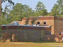 A fire seriously damaged Douglas Byrd Middle School, 1616 Ireland Drive in Fayetteville, the night of Wednesday, July 1, 2009. The fire started in the gym at around 10 p.m. and quickly spread to the cafeteria, said Debbie Tannie, a spokeswoman for the Cumberland County Sheriff's Office. The gym roof caved in, and several walls were on the verge of collapsing.
