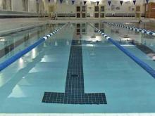 Rex Wellness pool in Wakefield uses a saline-based system that reduces the amount of chlorine in the water.