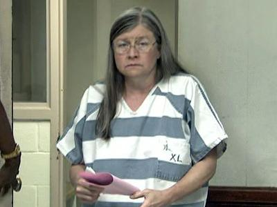 Jolene Kay Hardy, 55, as she was booked at the Wake County Magistrate's Office on July 17, 2009.