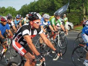 The NC Bicycling Club held its Summer Rally on Sunday, July 19, 2009.