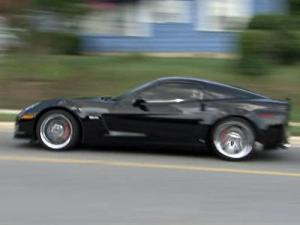 The 2007 Chevy Corvette Z06 was obtained through a drug seizure, the sheriff said.
