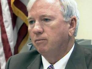 Sampson County District Attorney Dewey Hudson says he won't prosecute any cases handled by a sheriff's deputy.