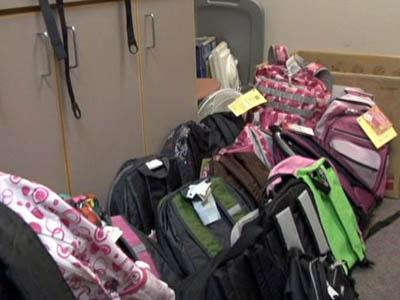 Wake County Human Services is collecting backpacks and school supplies for its Project School Buddies program.