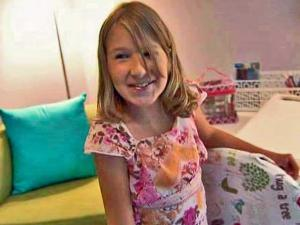 Volunteers with April's Angels redesigned a bedroom for 12-year-old Hayley Ford, of Fuquay-Varina. Hayley has severe scoliosis and arthrogryposis, a congintigal joint disease that is potentially life-threatening.