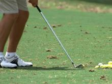 Teen golfer injured with own club