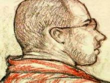 Courtroom sketch of Anes Subasic