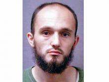 Mugshot of Hysen Sherifi, terrorism suspect