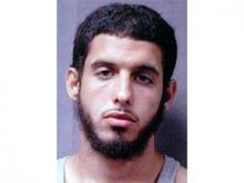 Mugshot of Ziyad Yaghi, terrorism suspect
