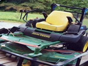 One of the pieces of farm equipment that was stolen recently in Franklin County.