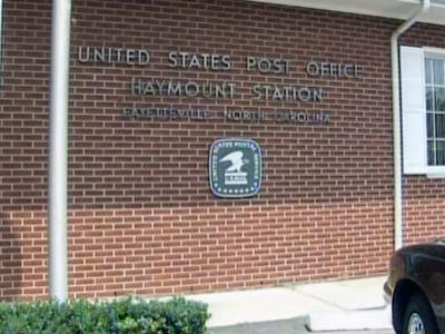 The Hamount Station post office, at 106 Oakridge Ave. in Fayetteville, is in danger of closing or consolidating.