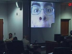 Jurors watched videos made by Alvaro Rafael Castillo in 2006.