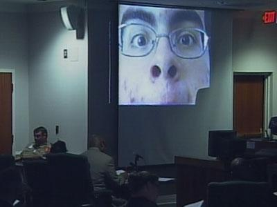 Jurors watched videos made by Alvaro Rafael Castillo in 2006.