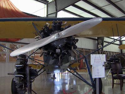 One of the planes on display at the North Carolina Aviation Museum, 2222-G Pilots View Road in Asheboro.