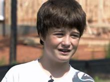 14-year-old passenger recalls emergency landing