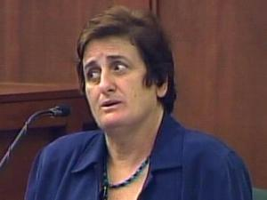 Vicky Castillo testifies in her son Alvaro Castillo's murder trial on Aug. 12, 2009. He is charged with killing his father and shooting at Orange High School on Aug. 30, 2006.