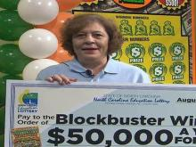 Lottery winner speaks to WRAL