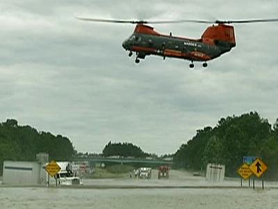 Emergency response agencies from across North Carolina practice how to rescue people Thursday.