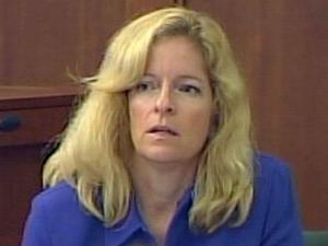 Dr. Nicole Wolfe, a forensic psychiatrist, testifies for the prosecution on Aug. 19, 2009, in the murder trial of Alvaro Castillo. He is charged with killing his father and opening fire on Orange High School on Aug. 30, 2006.