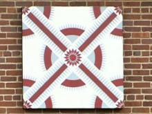 Quilts tell the tale along the trail