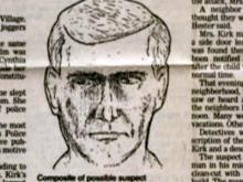 A police composite of a possible suspect in the death of Cindy Kirk, of Durham, in 1989.