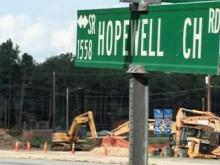 Hopewell Church Road in Archdale, scene of Courtland Smith's shooting death