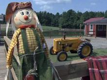 The Phillips family opened an educational farm with a corn maze.