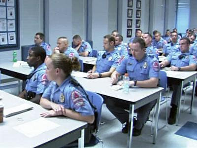 A training session was held Sunday, August 30, 2009, to help Raleigh officers more easily identify Probationary Rental Occupancy Permit, or PROP, ordinance violations.