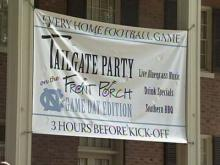 Carolina Inn hosts a tailgate party for every University of North Carolina football game.