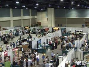 More than 1,000 people attended the 5th annual GreenNC Tradeshow at the Raleigh Convention Center on Sept. 9, 2009.