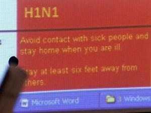 Wake County's new H1N1 and seasonal flu Web site features information about flu prevention.