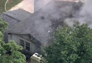 IMAGES: House fire in Raleigh
