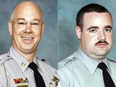 Capt. Roy Allen and Sgt. Chris Perry