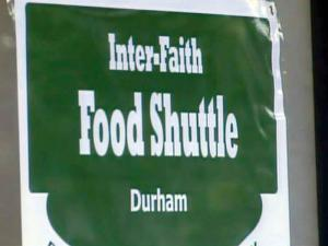 The Inter-Faith Food Shuttle serves seven counties in the Triangle area.