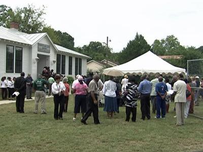 Princeville's Town Hall has been turned into an African American cultural museum.